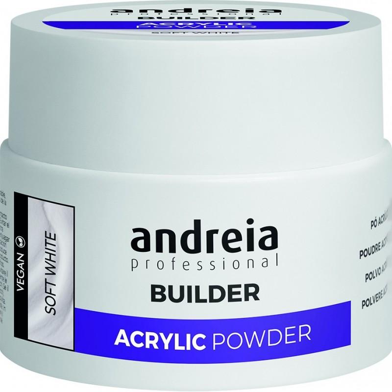 ACRYLIC POWDER VEGAN SOFT WHITE 35 GR